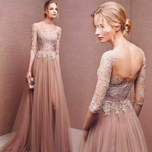 Dresses & Skirts - STOCKED🔥Nude Pink Tulle Romance Wedding Gown,2-16